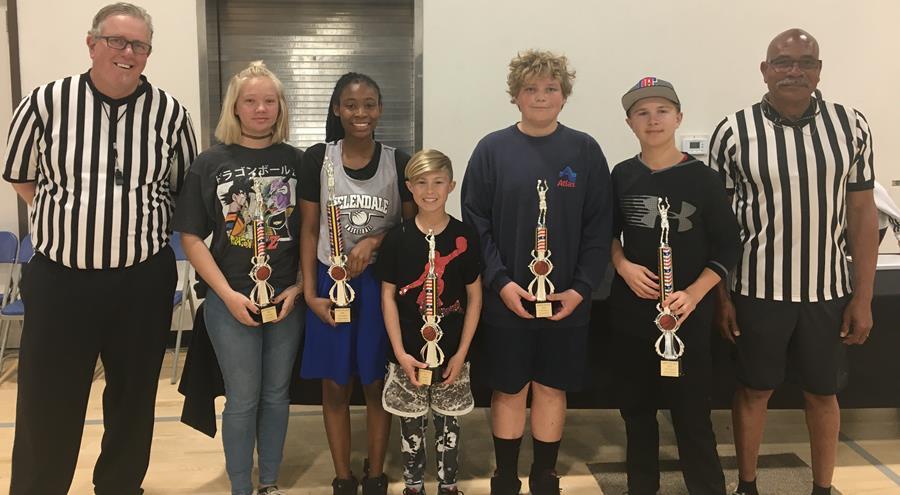 Helendale Hoop Shoot Winners 12-13 Division